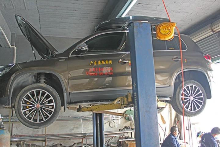 途观改装FDR遥控双阀门排气系统