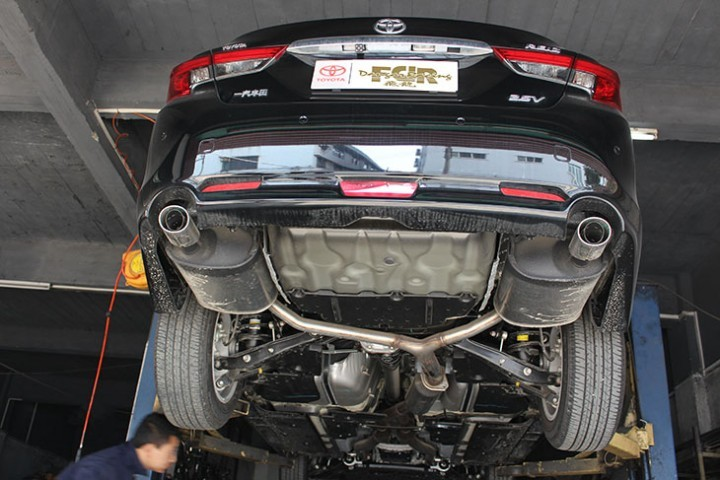 锐志改装FDR中尾段双阀门排气系统