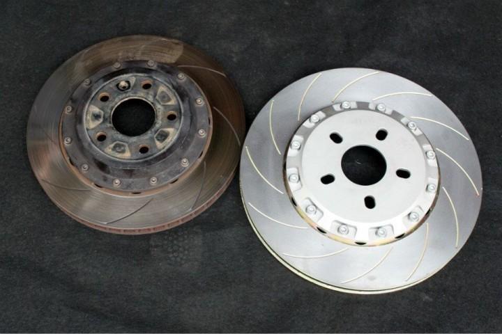 大众CC刹车升级 改装AP9040刹车卡钳作业图!