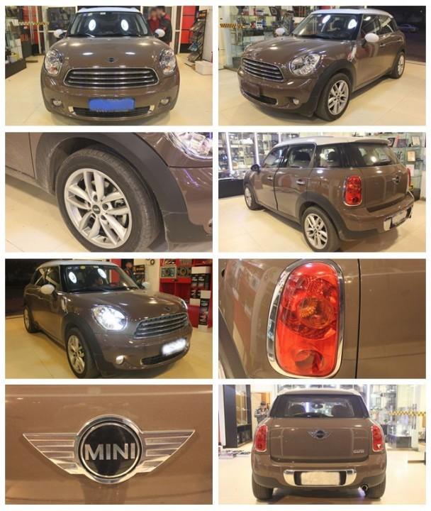 宝马mini汽车音响改装 大能全车舒适隔音套装组合!