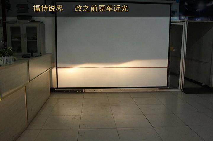 常州锐界改装Q5双氙气透镜大灯 精准调光打造完美锐界大灯