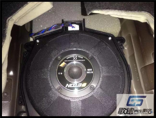 武汉歌德宝马X6改装德国伊顿宝马专车专用音响