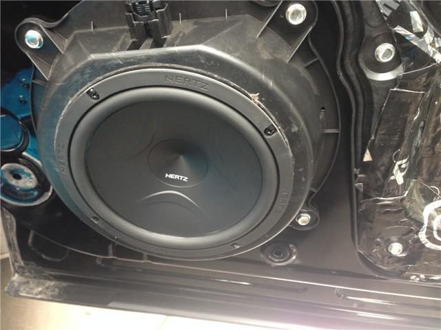 西安汽车音响改装——上尚马自达CX-5音响升级意大利赫兹