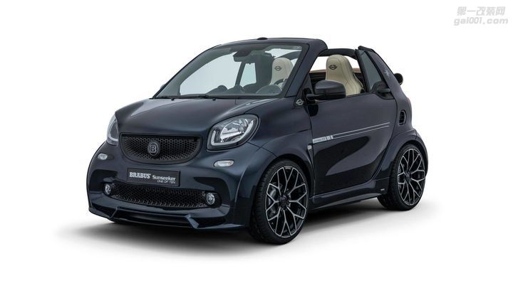 Brabus Ultimate Sunseeker限量版smart fortwo