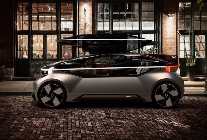 未来之车沃尔沃360c概念揭晓