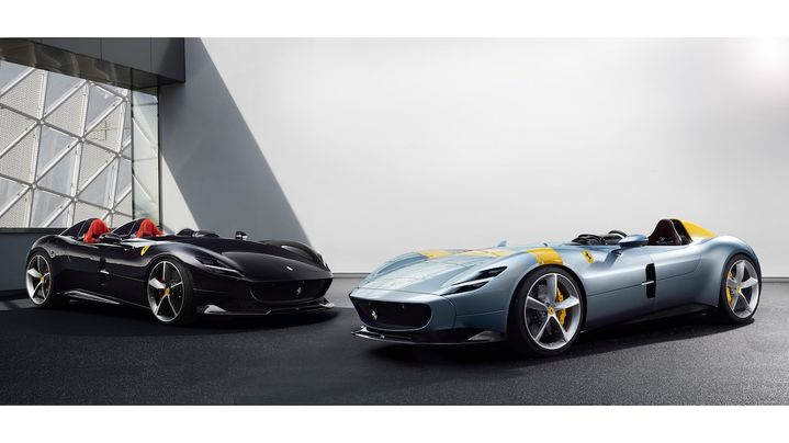 体验真正拉风的感觉 法拉利推出限量版超级跑车蒙扎SP1和SP2
