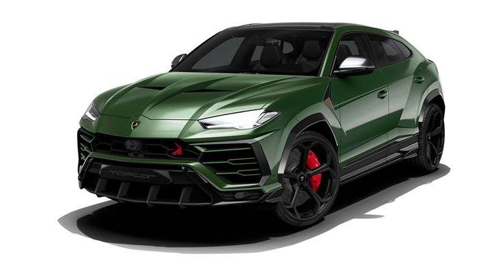 Topcar Design数字化改装兰博基尼Urus