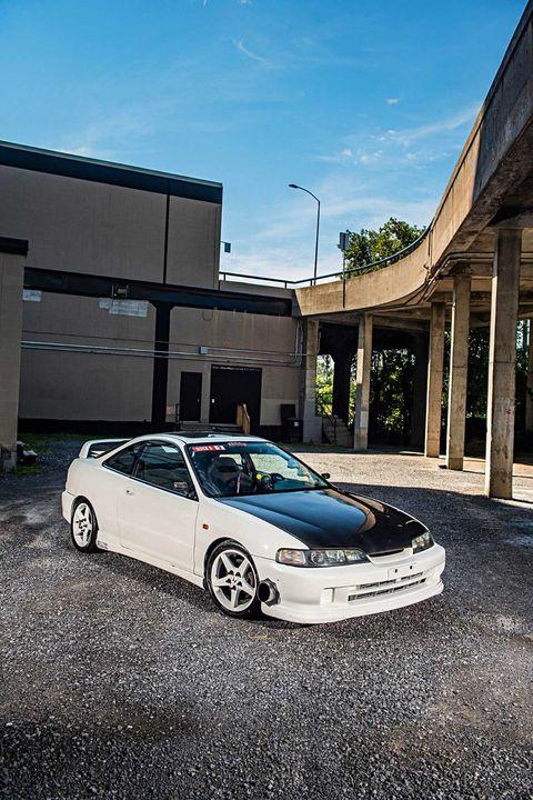 改装讴歌Integra Type R 从前轮驱动变为四轮驱动