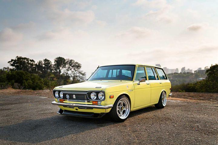 改装几乎已经被遗忘的1972版Datsun 510 Wagon