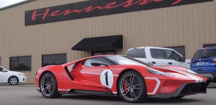 Hennessey研发改装2018款福特GT传统版