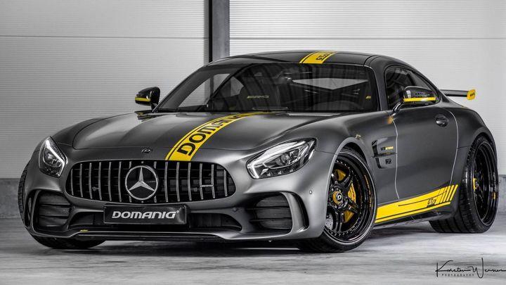 Domanig与IMSA合作改装梅赛德斯AMG GT R