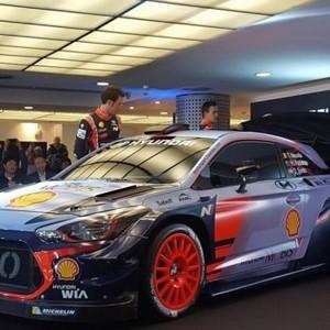 更轻更快更强 现代发布2017款WRC赛车
