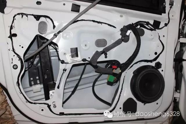 福特福克斯升级意大利PHD FB86两分频套装喇叭