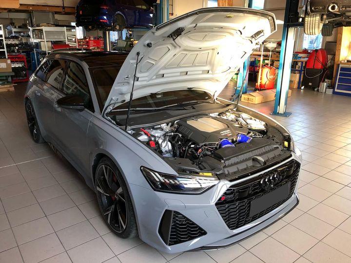 首款奥迪RS6 Avant改装套件将输出功率提升至786马力