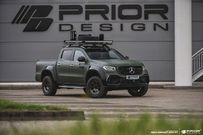 奔驰X级改装Prior Design的粗犷动感车身套件