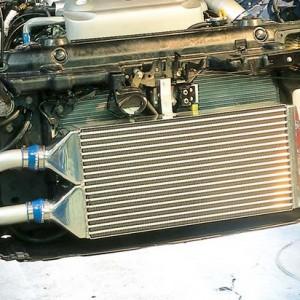 增压车型为什么要改装中冷器