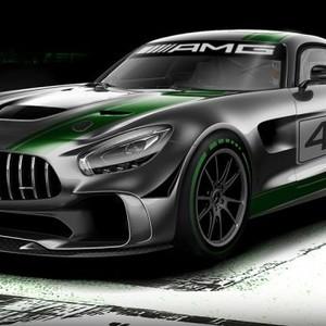 基于街版AMG GT R打造 梅赛德斯GT4赛车